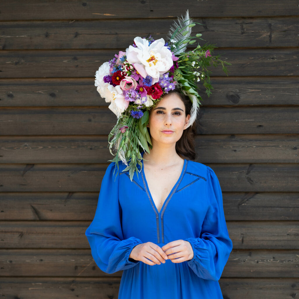 Photo of British Flower week hat